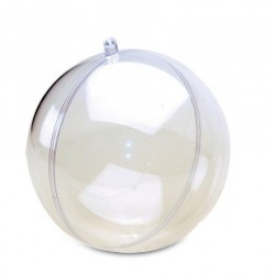 Boule plexi transparente D8CM