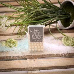Boîte de Tic-Tac menthe personnalisable Mr & Mrs