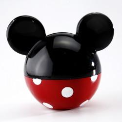 Tirelire Disney resine rouge noir 12 cm